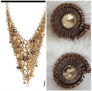 Park Lane Brunette Necklace Earring Set